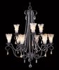 Framburg Lighting (9729) 9-Light Liebestraum Dining Chandelier
