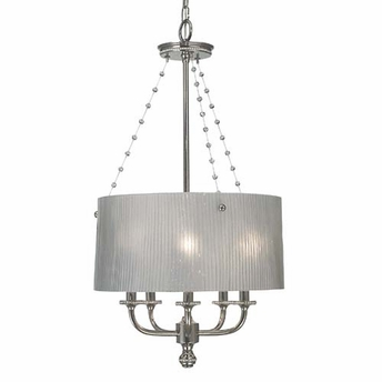 Framburg Lighting - River North Dining Chandeliers in Polished Silver - FBG-1045