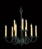 Framburg Lighting (1319) 9-Light Black Forest Dining Chandelier