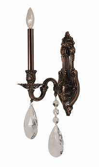 Framburg Lighting - Sarabande Bath and Sconces in Roman Bronze - FBG-5591
