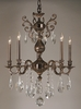 Framburg Lighting (5595) Five Light Chandelier from the Czarina Collection