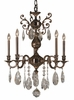 Framburg Lighting (5595) 5-Light Czarina Dining Chandelier