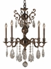 Framburg Lighting - Sarabande Dining Chandeliers in Roman Bronze - FBG-5595
