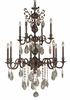 Framburg Lighting (5599) 12-Light Czarina Foyer Chandelier