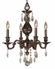 Framburg Lighting - Sarabande Mini Chandeliers in Roman Bronze - FBG-5594