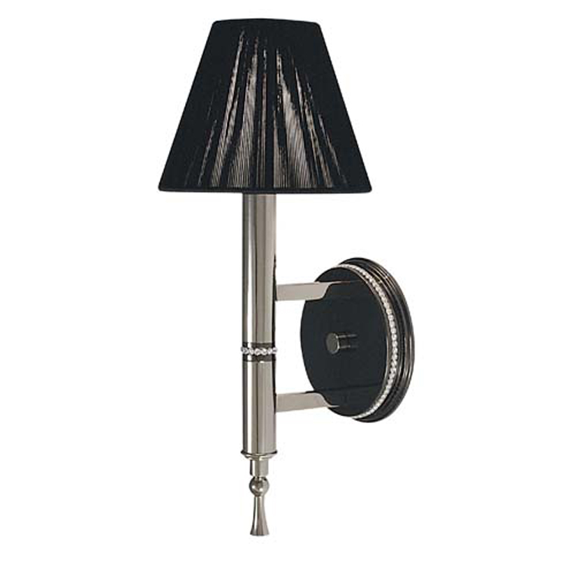 Framburg Lighting - Sophia Bath and Sconces in Polished Silver  w/ Ebony Accents - FBG-1011