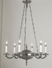 Framburg Lighting (2256) Six Light Chandelier from the Napoleonic Collection