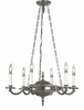 Framburg Lighting (2256) 6-Light Napoleonic Dining Chandelier
