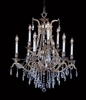 Framburg Lighting (8429) Nine Light Chandelier from the Czarina Collection