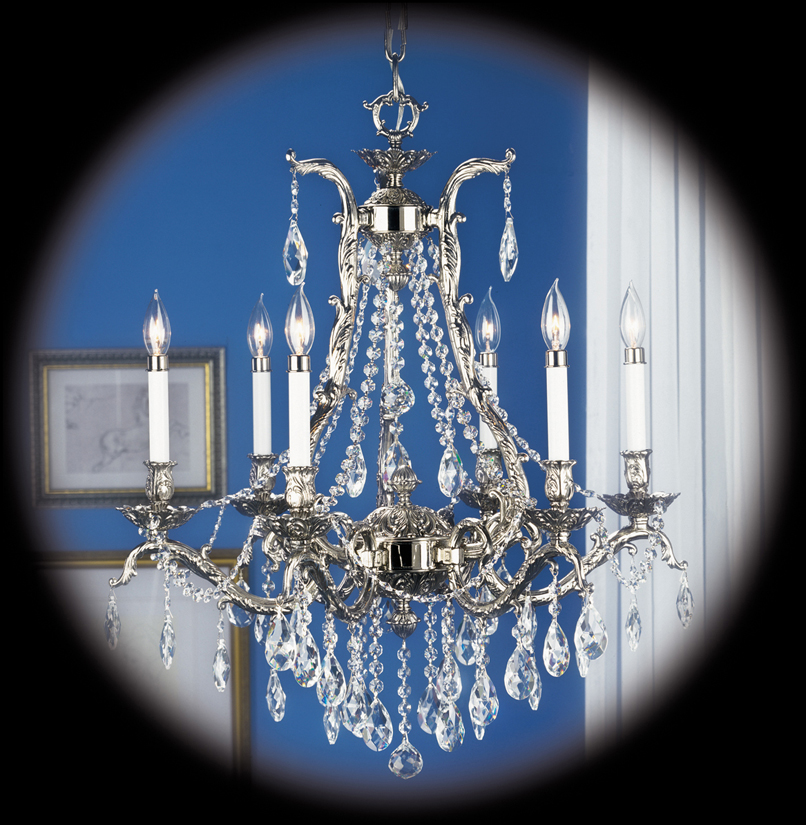 Framburg Lighting - Vienna Dining Chandeliers in Polished Silver - FBG-8426
