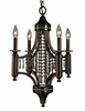 Framburg Lighting (5074) 4-Light Princessa Mini Chandelier