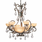 Fredrick Ramond Barcelona Collection Chandelier - Fr-Fr44102Frm