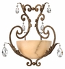 Fredrick Ramond (Barcelona FR44106FRM) 1 Light Wall Sconce shown in French Marble Finish