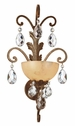 Fredrick Ramond (FR-FR44110FRM) Barcelona Single Light Wall Sconce in French Marble
