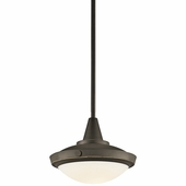 Fremont Convertible Pendant 1 Light shown in Olde Bronze by Kichler Lighting