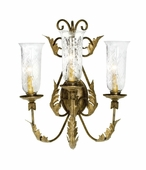 2nd Avenue Lighting (75400.3) French Elegance Wall Sconce shown in Cortez Gold Finish