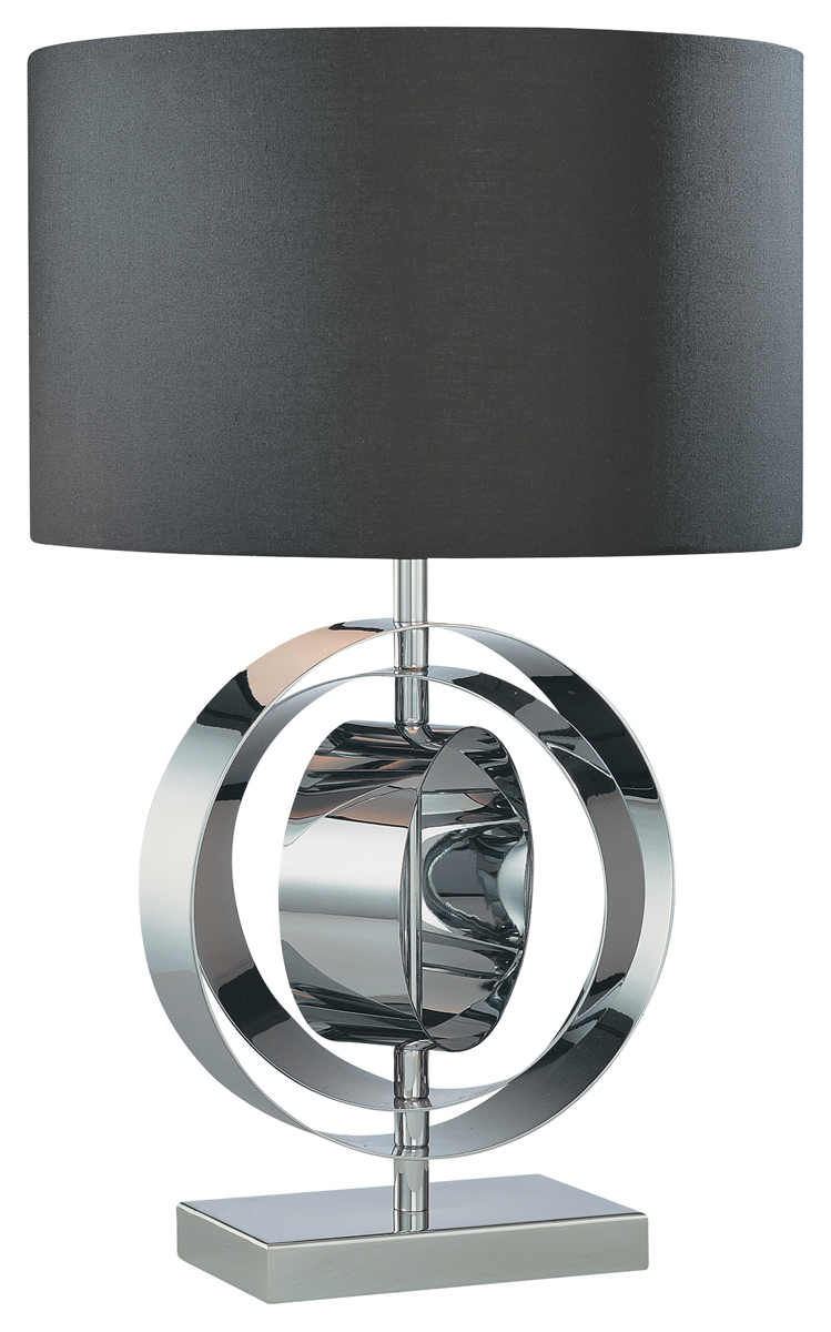george kovacs lighting p745 decorative portables 1 light table lamp. Black Bedroom Furniture Sets. Home Design Ideas