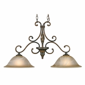 Golden Lighting Meridian Island Light in Golden Bronze Finish 3890-10-GB