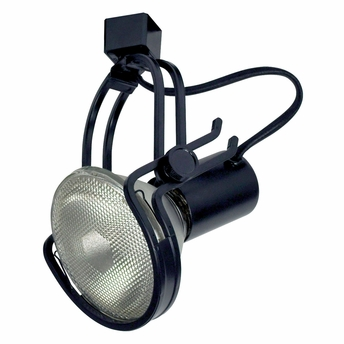 High Tech Wire PAR38 H Style Line Voltage Track Fixture Shown In Black By Nor
