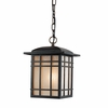 Hillcrest- Arts & Crafts Style Hillcrest Outdoor Fixture In Imperial Bronze Finish From Quoizel Lighting- HC1909IBFL