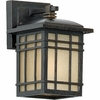 Hillcrest- Arts & Crafts Style Hillcrest Outdoor Fixture In Imperial Bronze Finish From Quoizel Lighting- HC8406IB