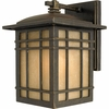 Hillcrest- Arts & Crafts Style Hillcrest Outdoor Fixture In Imperial Bronze Finish From Quoizel Lighting- HC8407IB