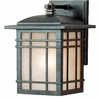 Hillcrest- Arts & Crafts Style Hillcrest Outdoor Fixture In Imperial Bronze Finish From Quoizel Lighting- HC8407IBFL