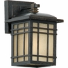 Hillcrest- Arts & Crafts Style Hillcrest Outdoor Fixture In Imperial Bronze Finish From Quoizel Lighting- HC8411IBFL