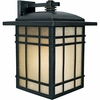 Hillcrest- Arts & Crafts Style Hillcrest Outdoor Fixture In Imperial Bronze Finish From Quoizel Lighting- HC8413IB
