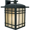 Hillcrest- Arts & Crafts Style Hillcrest Outdoor Fixture In Imperial Bronze Finish From Quoizel Lighting- HC8413IBFL