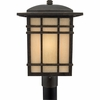 Hillcrest- Arts & Crafts Style Hillcrest Outdoor Fixture In Imperial Bronze Finish From Quoizel Lighting- HC9011IB