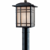 Hillcrest- Arts & Crafts Style Hillcrest Outdoor Fixture In Imperial Bronze Finish From Quoizel Lighting- HC9011IBFL