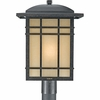 Hillcrest- Arts & Crafts Style Hillcrest Outdoor Fixture In Imperial Bronze Finish From Quoizel Lighting- HC9013IB