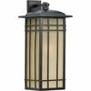 Hillcrest- Arts & Crafts Style Hillcrest Outdoor Fixture In Imperial Bronze Finish From Quoizel Lighting- HCE8411IB