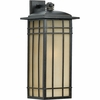Hillcrest- Arts & Crafts Style Hillcrest Outdoor Fixture In Imperial Bronze Finish From Quoizel Lighting- HCE8411IBFL