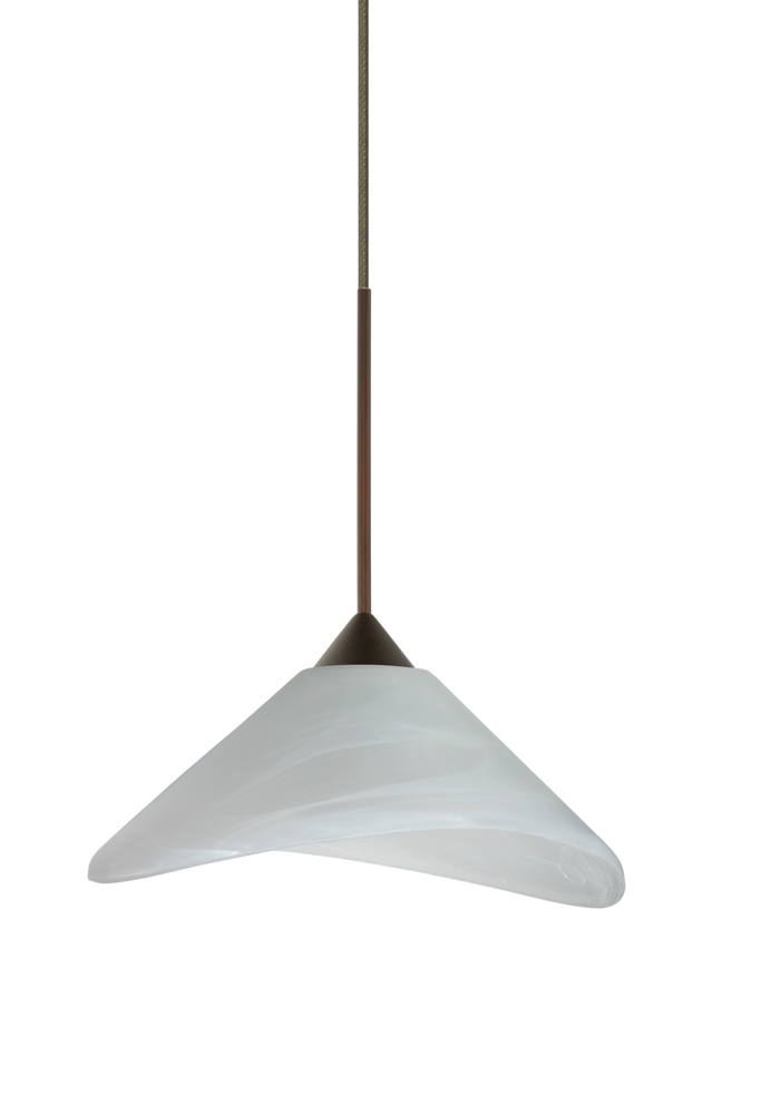 in bronze with marble glass shade by besa lighting 1xc 191352 br