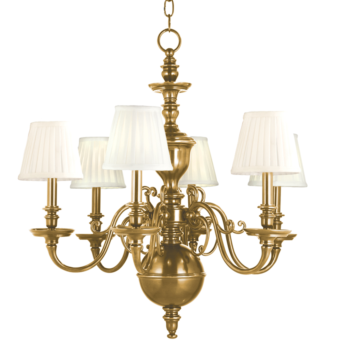 Colonial Williamsburg Chandeliers – Chandeliers Brass
