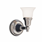 Hudson Valley Lighting (861-341) Historic Collection 1 Light Bath Bracket shown in Polished Chrome