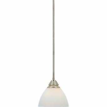 Ibsen- Contemporary Style Ibsen Mini Pendants In Brushed Nickel Finish From Quoizel Lighting- IE1508BN