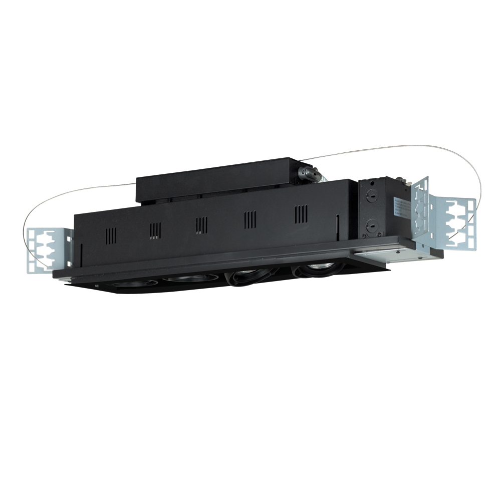 ... MGP20-4) Four-Light Double Gimbal Linear Recessed Line Voltage Fixture