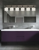 Justice Design (CLD-8506) Argyle 6-Light Bath Bar from the Clouds Collection