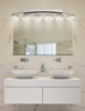 Justice Design (CLD-8596) Archway 6-Light Bath Bar from the Clouds Collection