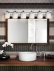 Justice Design (POR-8506) Argyle 6-Light Bath Bar from the Limoges Collection