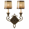 Murray Feiss (WB1473) Justine 2 Light Sconce