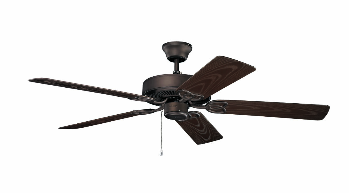Kichler Lighting 401SNB Basics 52 Patio Ceiling Fan In