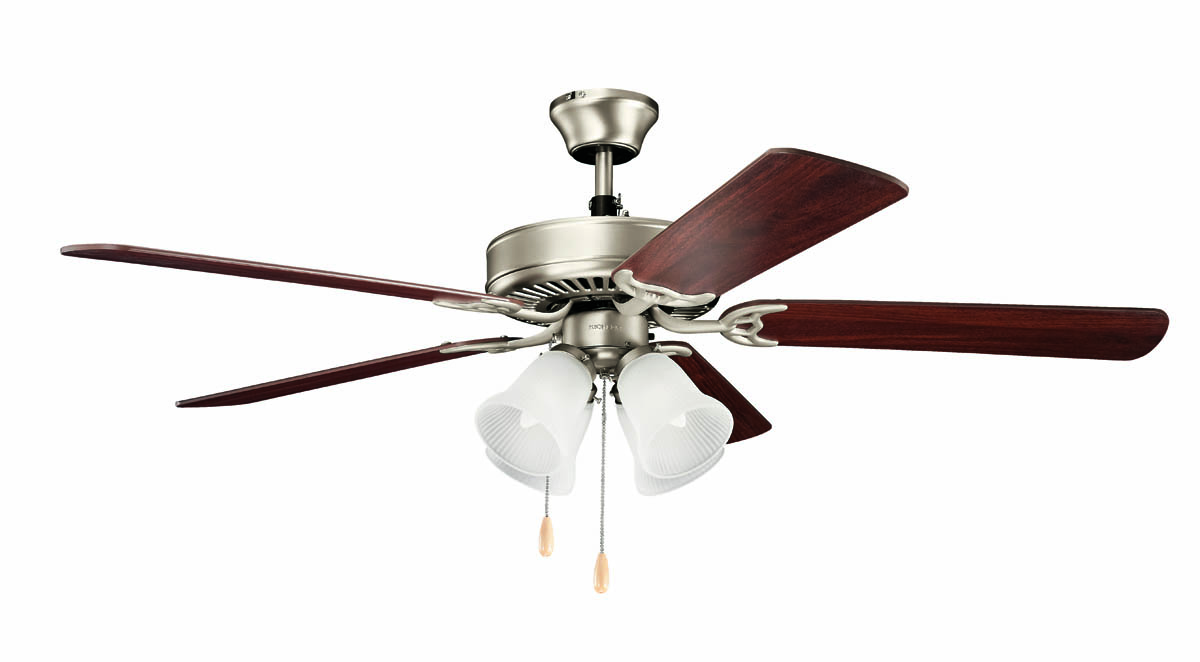 Kichler Lighting 402NI7 Basics 52 Premier Ceiling Fan