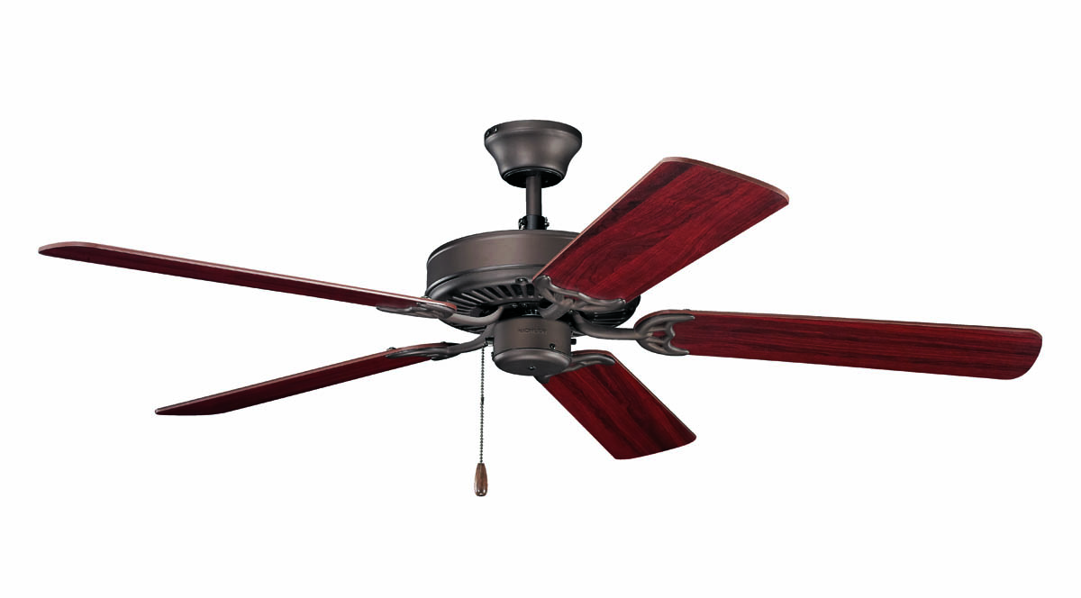 Kichler Lighting 404SNB Basics 52 Ceiling Fan In Satin