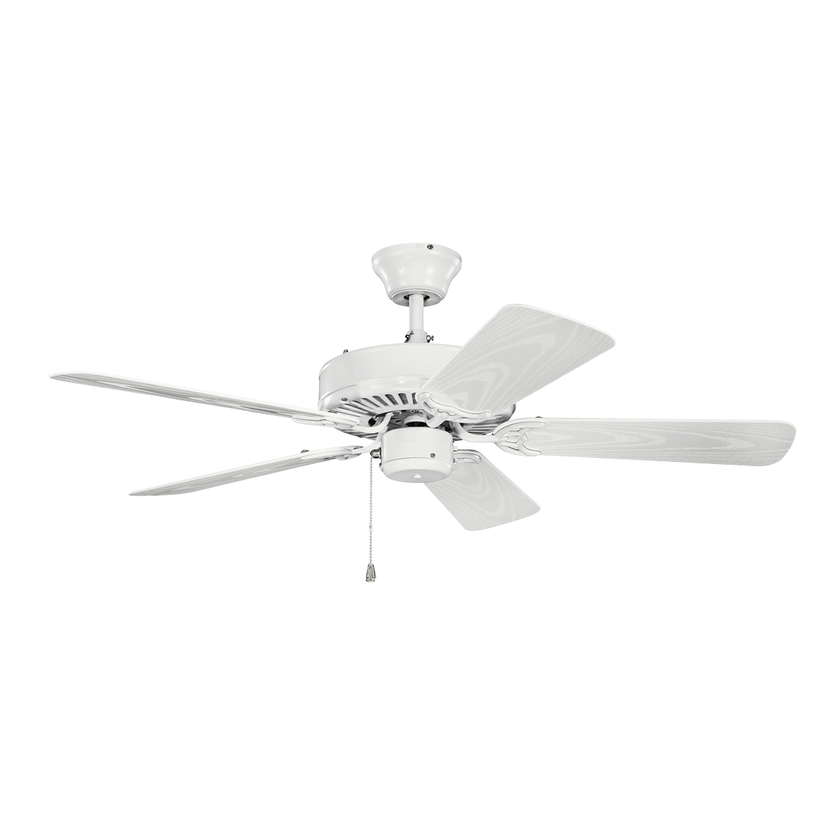 Kichler Lighting 414WH Basics 42 Patio Ceiling Fan In White
