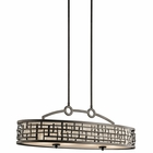 Kichler Lighting (43046OZ) Loom 4-Light Oval Chandelier/Pendant