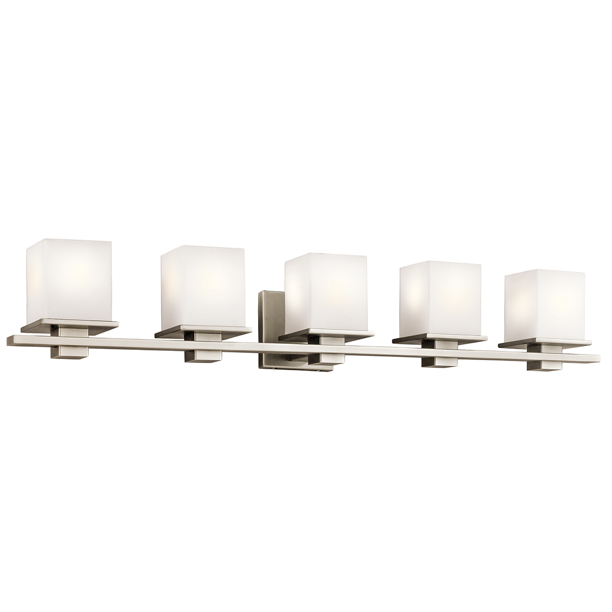 kichler lighting 45193ap tully 5 light bath vanity fixture in. Black Bedroom Furniture Sets. Home Design Ideas